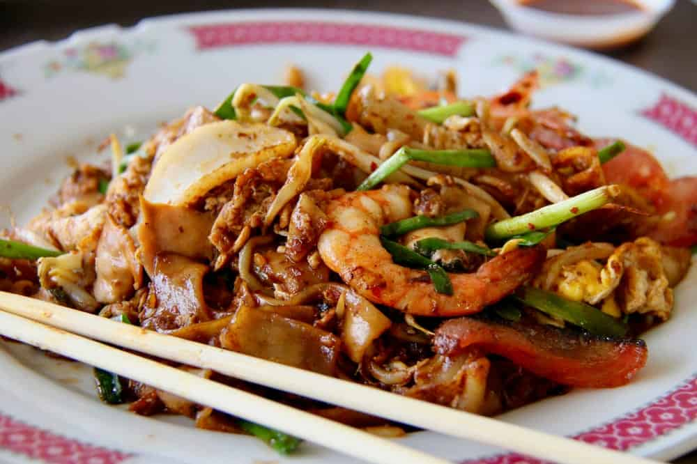 traditional char kway teow