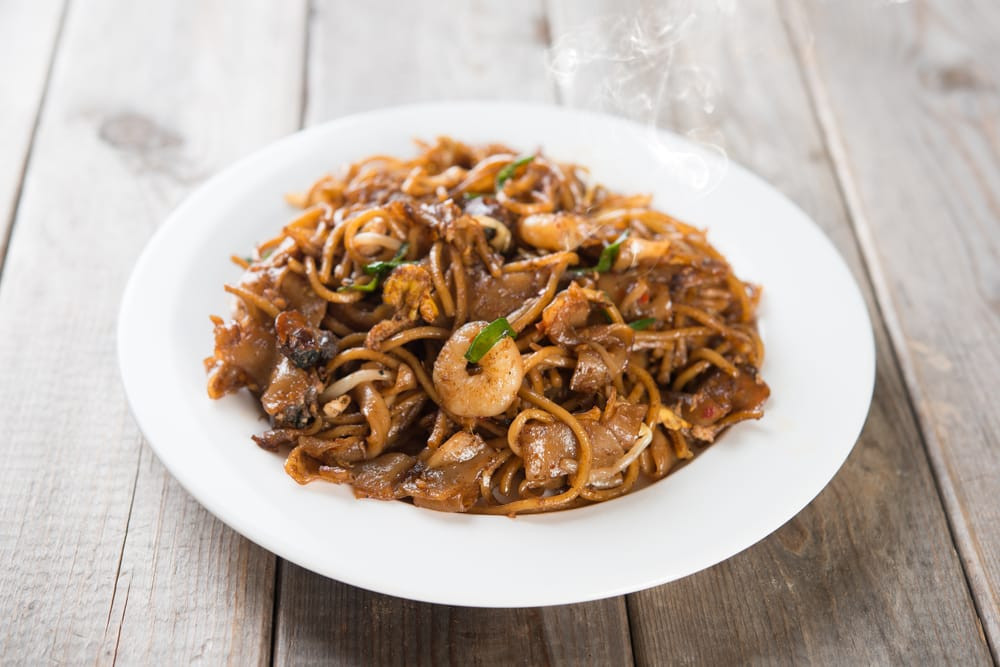 plate of kway teow mee