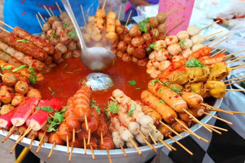 kebabs in Phuket
