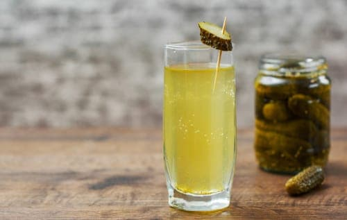 pickle juice - hangover cure