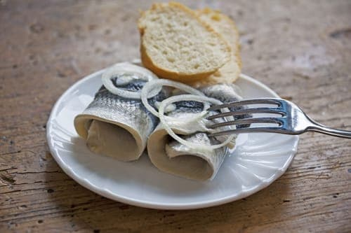 pickled herring - hangover cure