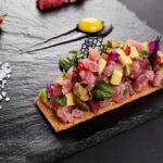 tuna avocado ceviche