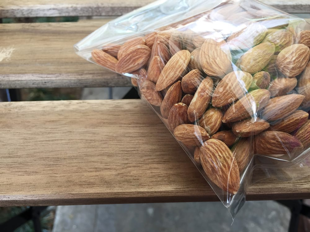 ziploc pack of nuts