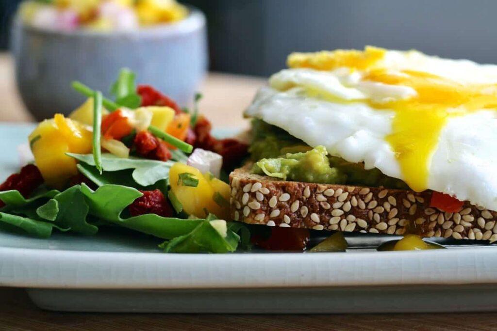 savory breakfast egg salad