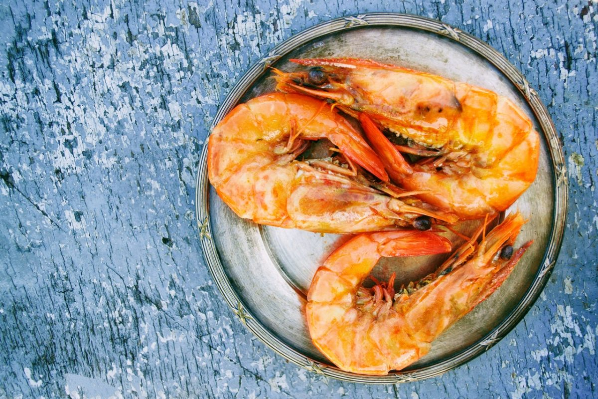 ready to eat shrimps