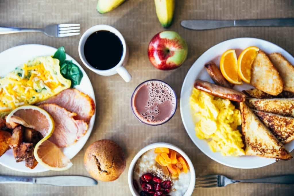 a full breakfast meal/Superfood Breakfast