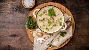 Chanterelle Mushroom Soup Recipe
