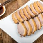 Chinese-Tea Smoked Duck Breasts with Plum Sauce