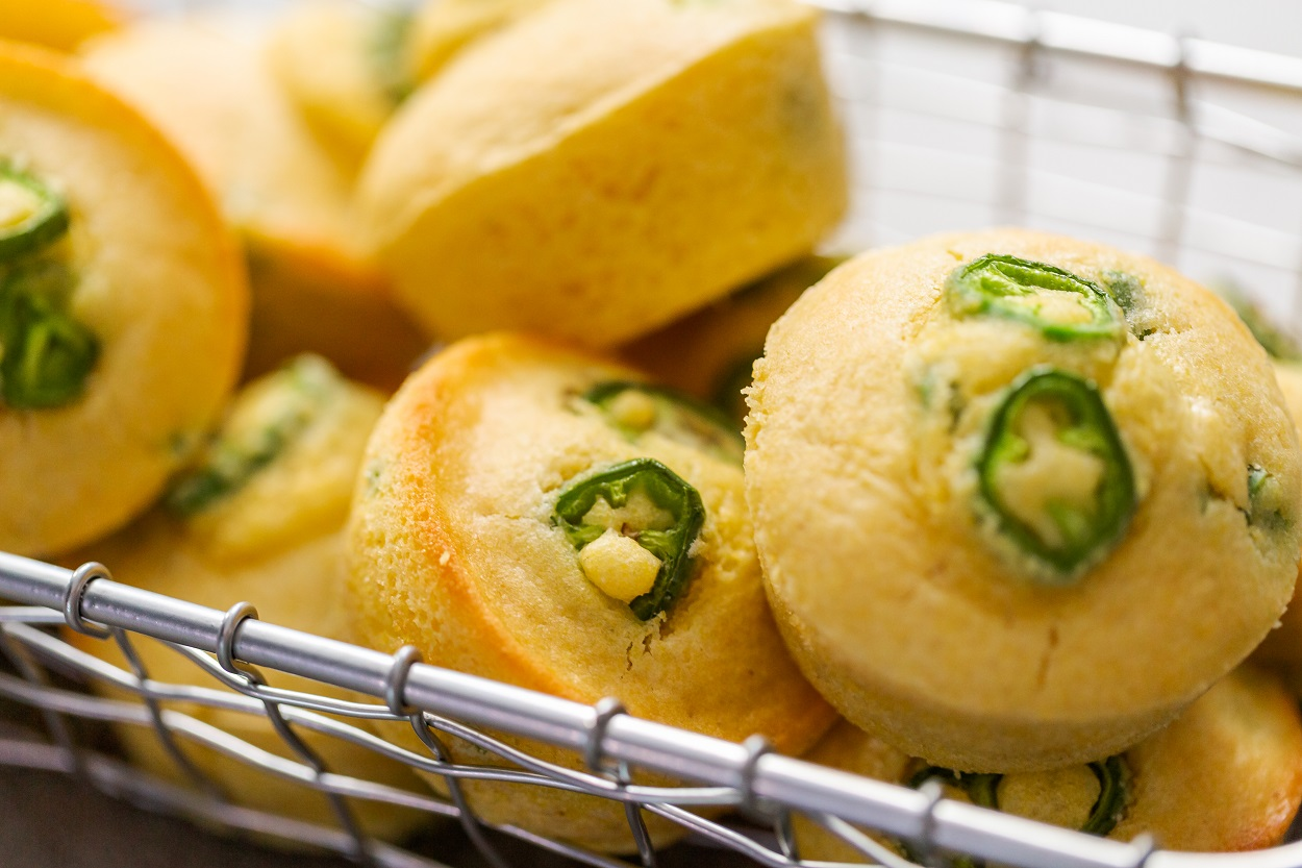 Cornbread Jalapeno Muffins
