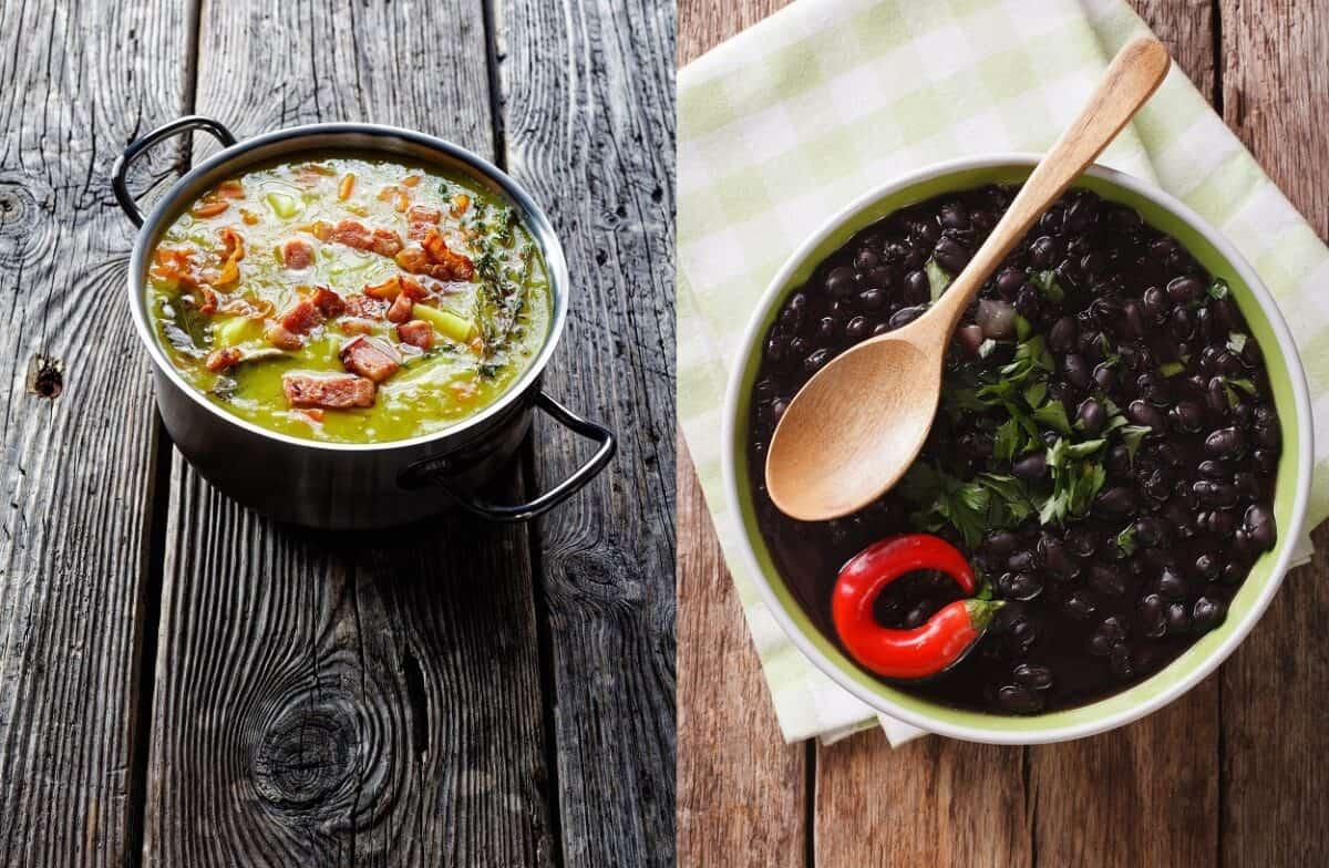Cuban Black Bean and Ham Soup Recipe