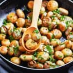 Sauteed Mushrooms and Pearl Onions