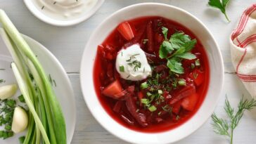Simple Borscht Recipe Vegetarian