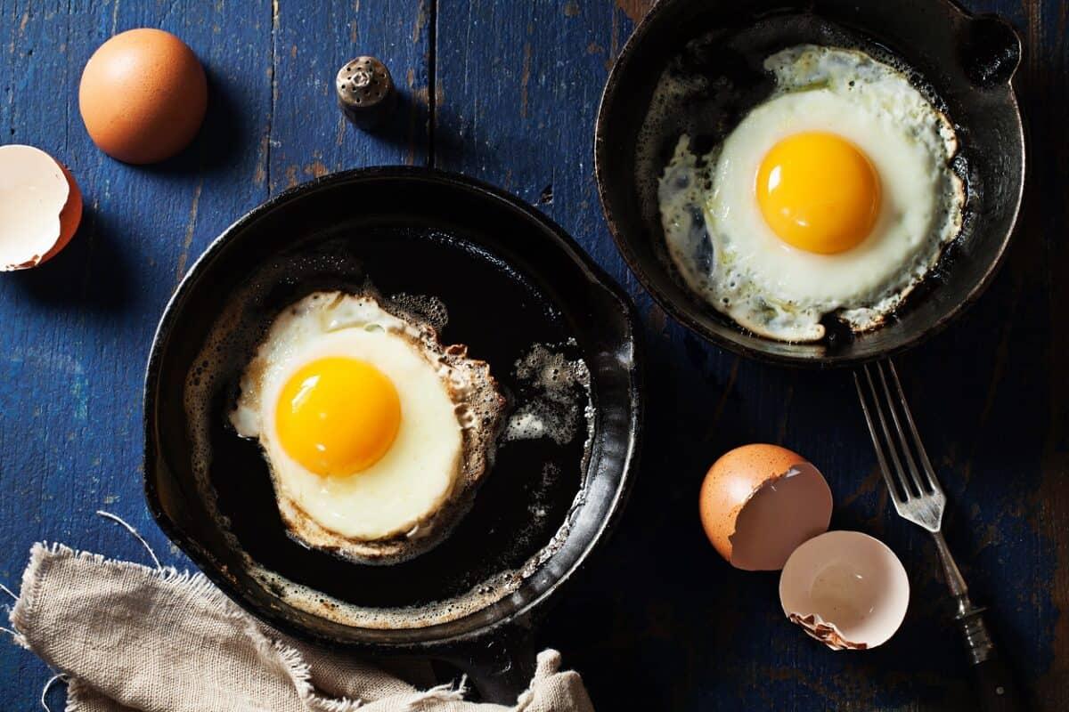 Eggs in Cast Iron