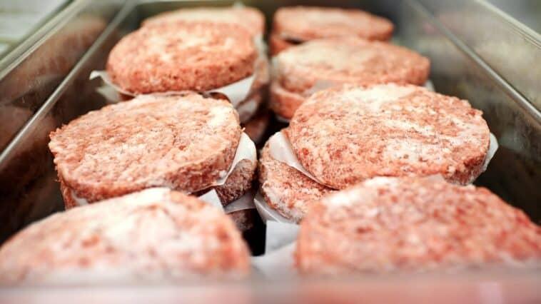 Frozen Burger Patties