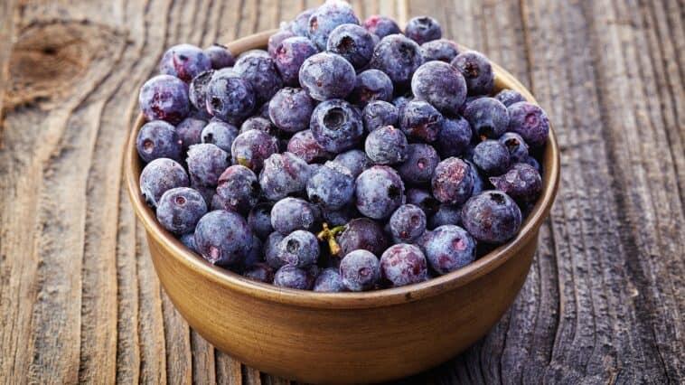 Frozen Fresh Blueberries