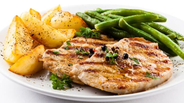 Pork Chops with Vegetables