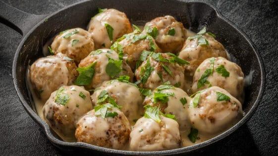 Authentic Turkey Swedish Meatballs Recipe
