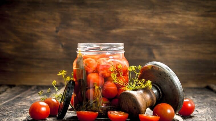 canned cherry tomatoes