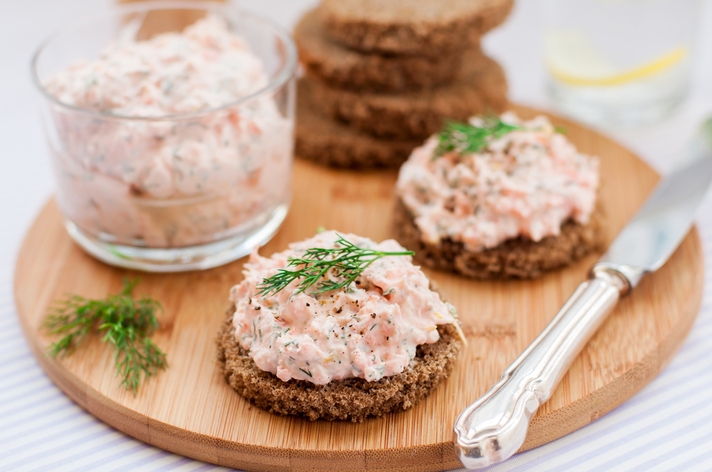 salmon-rillettes