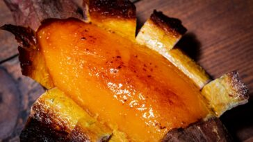 Slow Roasted Sweet Potato