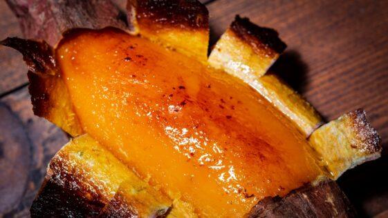 Slow Roasted Sweet Potato