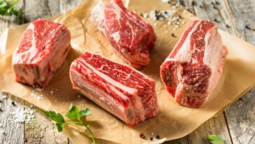 Grilled Beef Short Ribs