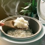 Rice in Rice Cooker
