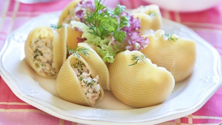 Seafood Stuffed Shells