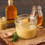 Hot Bacon Honey Mustard Salad