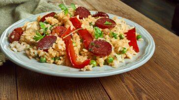 Chicken and Sausage Jambalaya Recipe
