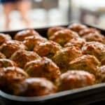 Meatballs in Oven