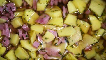 Ham and Potato Soup Slow Cooker