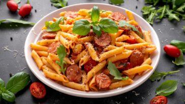 Pasta Recipe in Microwave