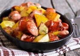 Smoke Sausage with Potatoes