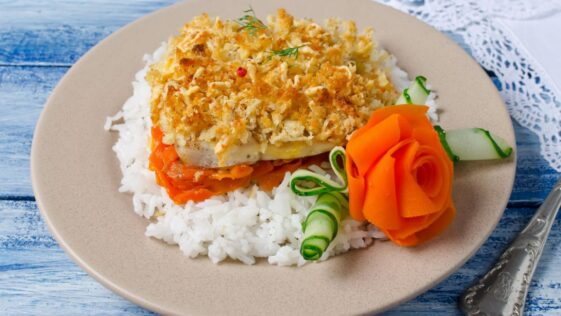 Baked Cod With Ritz Crackers Recipe