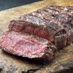 Cooked Top Round Steak