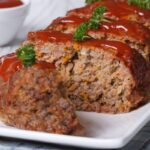 Easy Beef and Pork Meatloaf Recipe