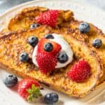 French Toast With Eggnog Recipe
