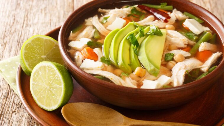 Green Chili Chicken Soup Recipe