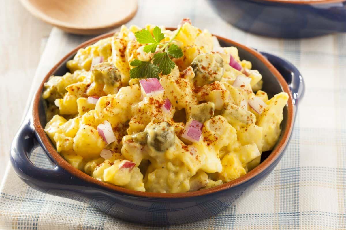 How to Make Deviled Egg Potato Salad
