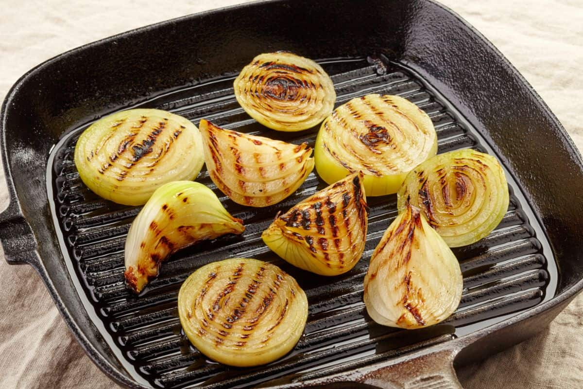 How to Make Grilled Onions