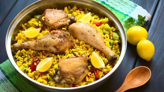 Instant Pot Paella Recipe