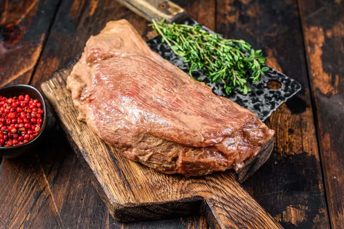 Marinating Tri-Tip Steak
