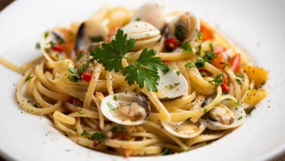 Pasta with Clam Sauce Recipe