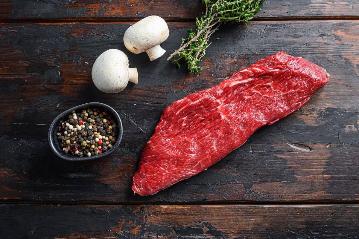 Preparing Tri-Tip Steak