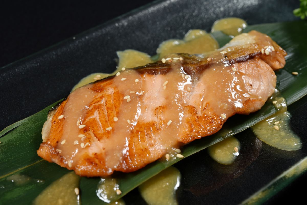 Salmon with Miso sauce Recipe