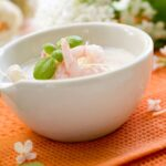 Shrimp dip with cream cheese and mayonnaise